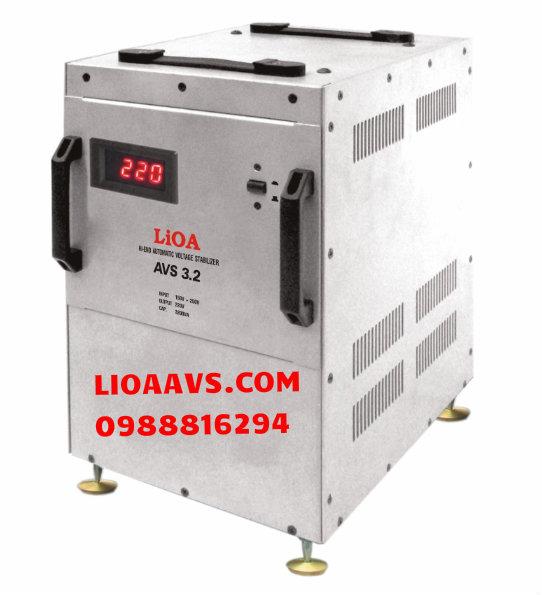 Ổn áp cao cấp Lioa AVS 3.2
