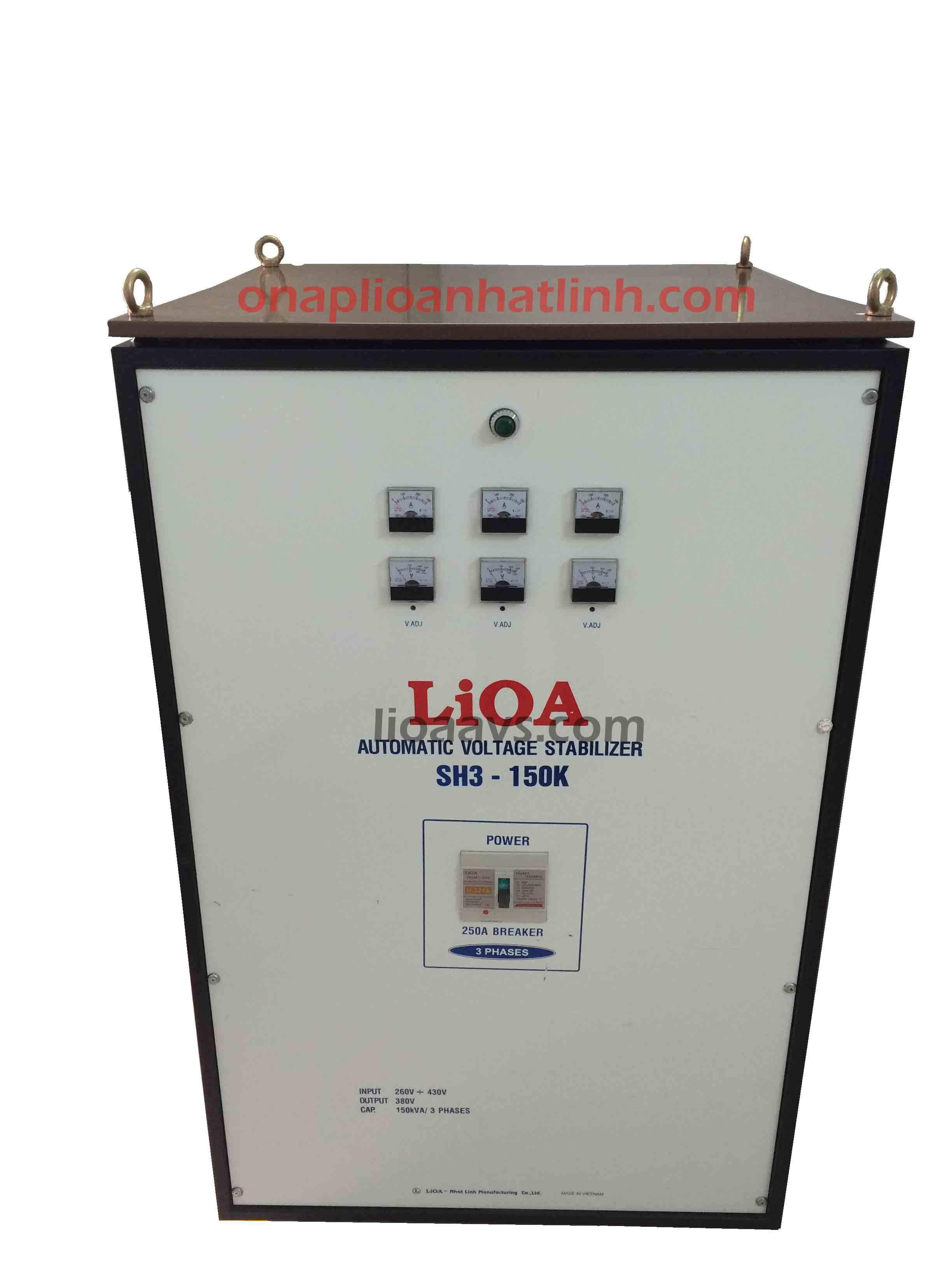 Ổn áp lioa SH3 - 150k