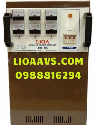 ỔN ÁP 3 PHA LIOA 10KVA/(160V-430V)