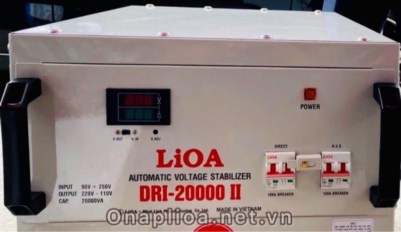 ỔN ÁP LIOA DRI-20000 DẢI 90V
