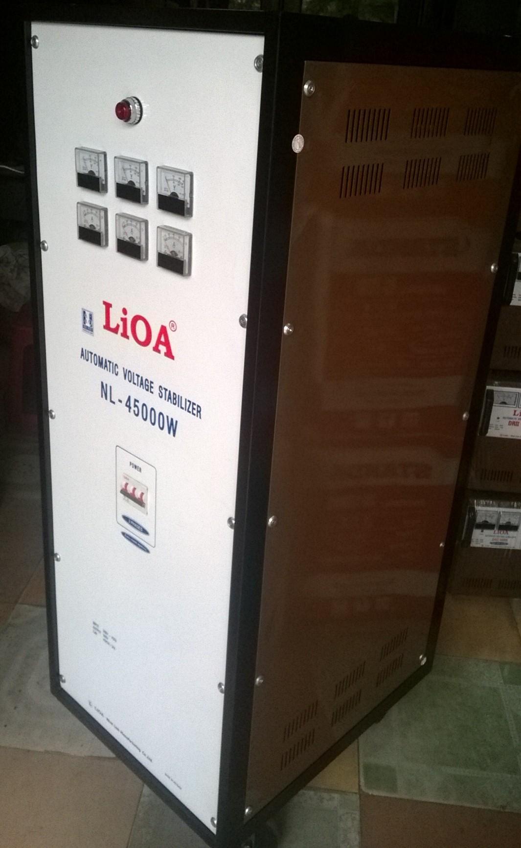 Ổn áp lioa NL-45K 3 Pha cũ