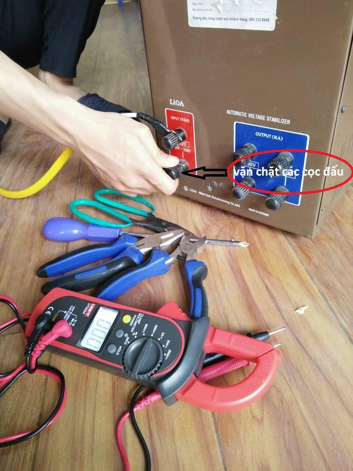 Hướng dẫn lắp đặt máy ổn áp Lioa tại gia đình cơ quán đúng cách , an toàn