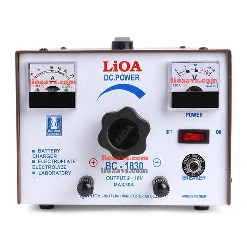 Máy nạp ắc quy LIOA BC - 1815