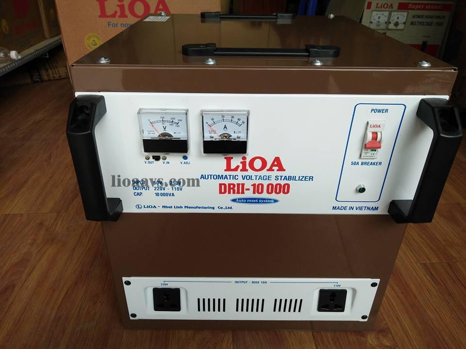 Ổn áp LIOA 10KVA ( Dải 50v Mới )