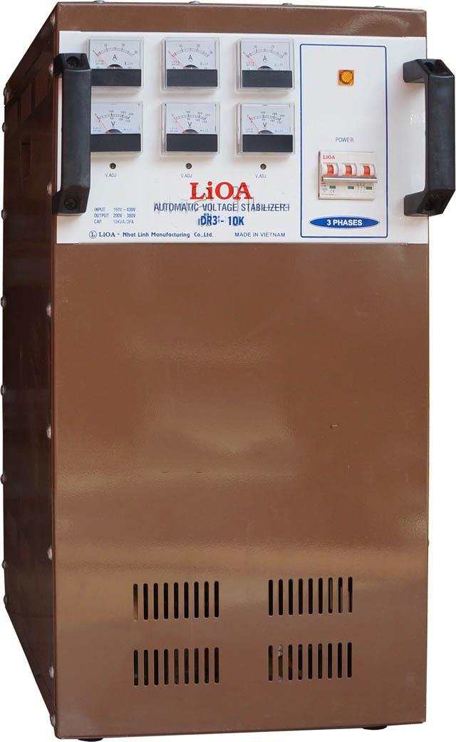 ỔN ÁP LIOA 3 PHA DR3 - 10K