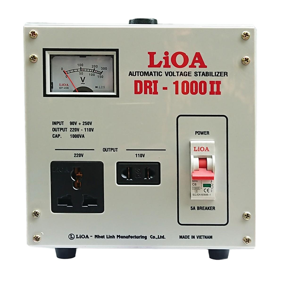 ỔN ÁP LIOA DRI-1000II