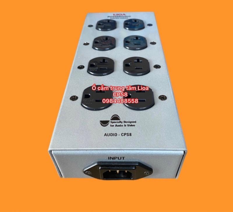 ổ cắm audio lioa 8 ổ cắm