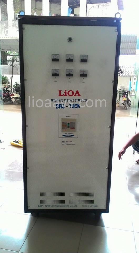 Ổn áp lioa DR3-100K - 3 pha