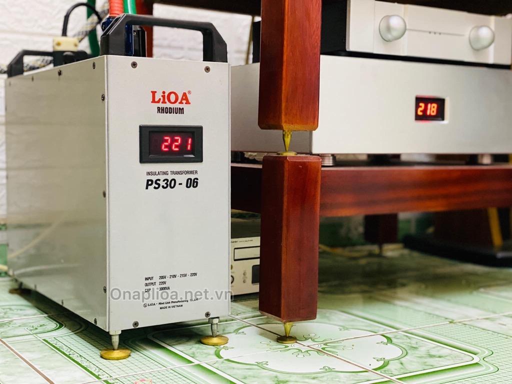 Biến áp Lioa PS30-04