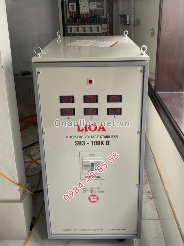 ỔN ÁP LIOA 100kVA 3 PHA .LIOA  SH3-100K II