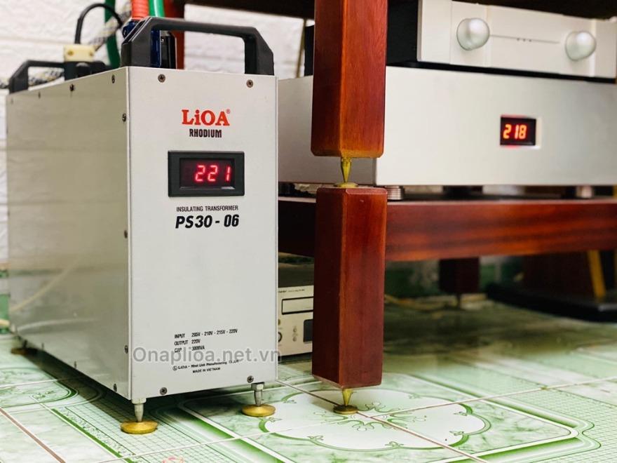 Biến áp Lioa PS30-02