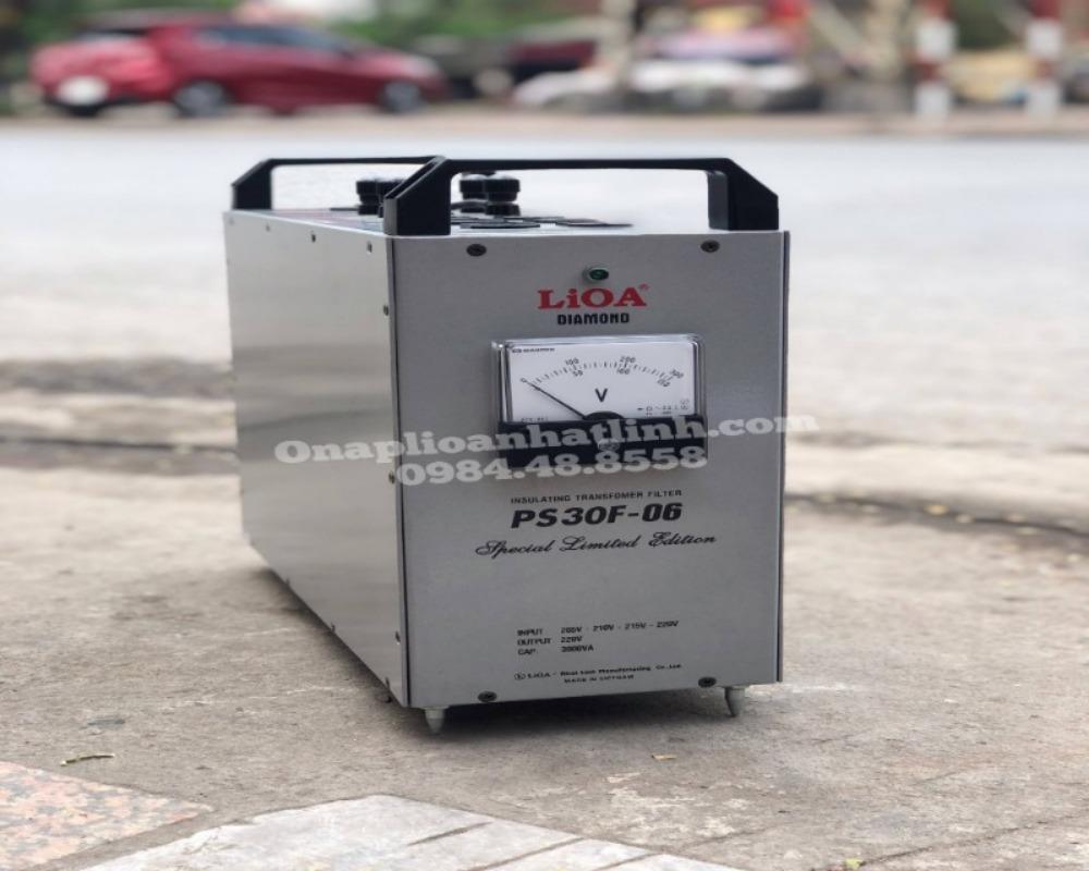 Biến áp cách ly Lioa PF30F-02