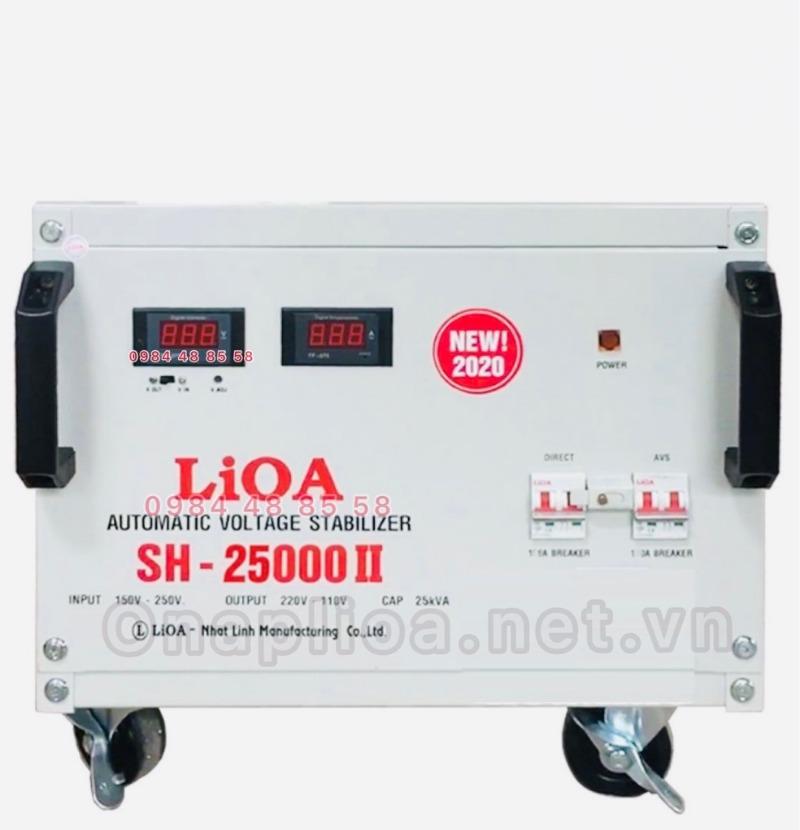 ổn áp lioa 25kva LIOA SH-25000II