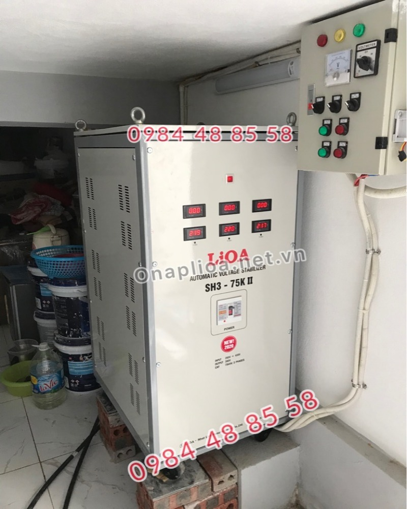 ổn áp lioa SH3-75K II