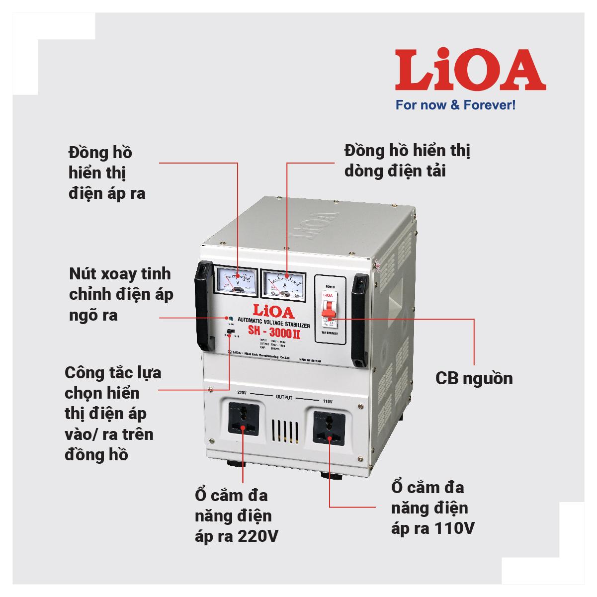 ỔN ÁP LIOA SH-3000II
