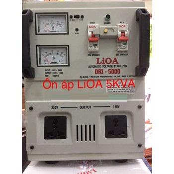 Ổn áp LIOA 5kva Dải 90v