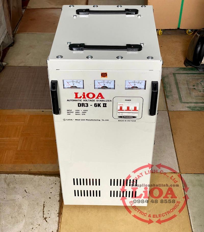 ổn áp lioa dr3-6k ii