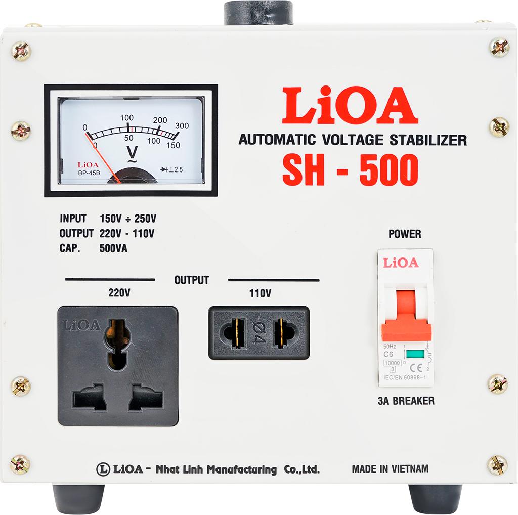 ỔN ÁP LIOA SH-500 II