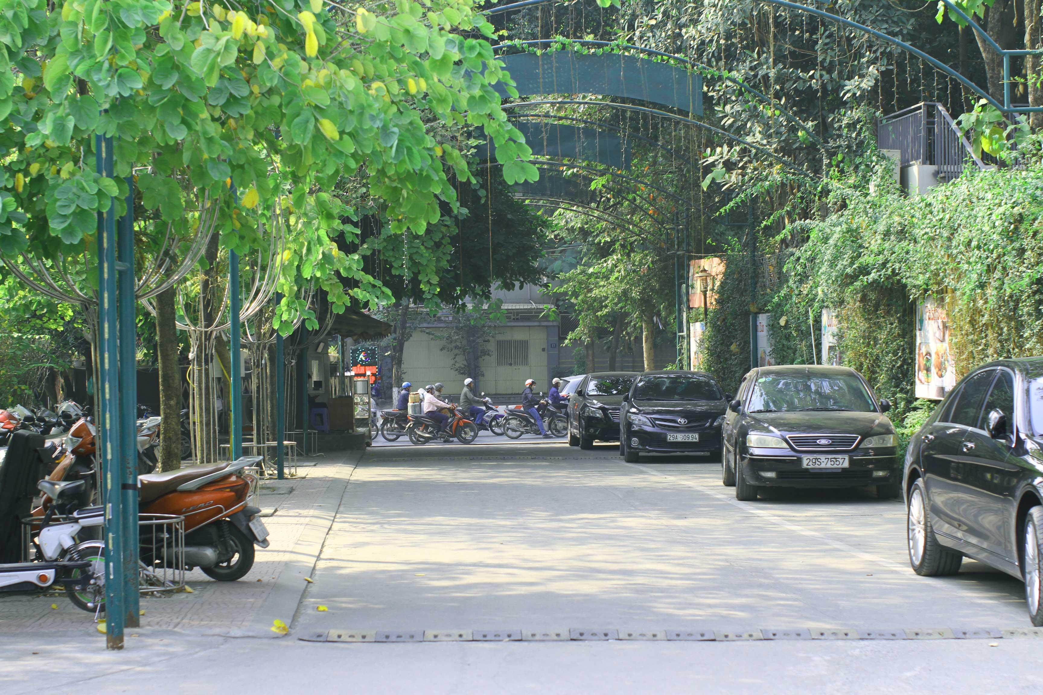 khu đỗ xe