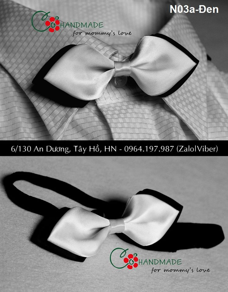 Nơ cổ handmade cho nam giới/ Bowtie/ Necktie