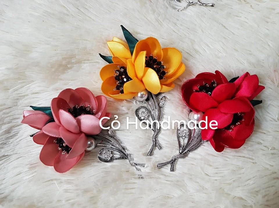 Hoa cài áo handmade