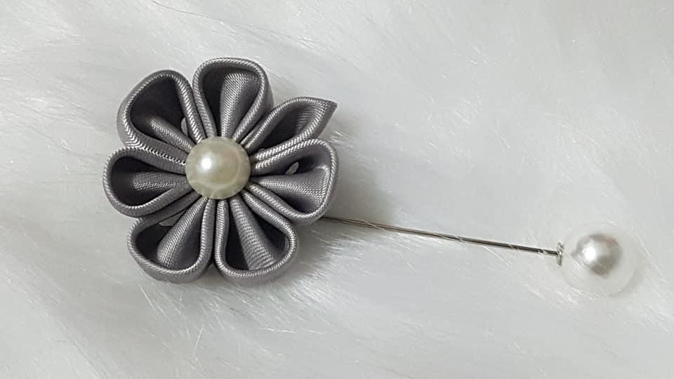 Hoa cài áo handmade - Unisex