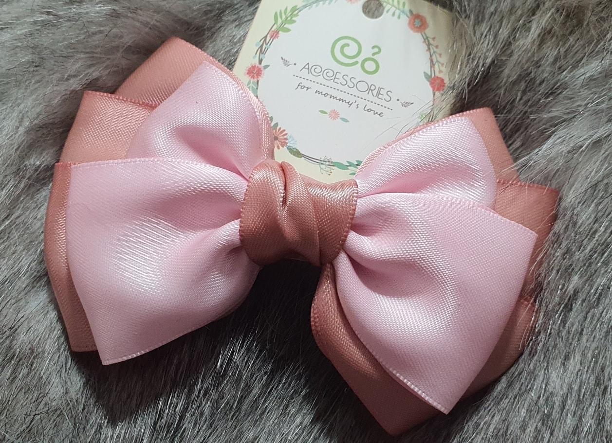 Cặp tóc nơ handmade cho nữ