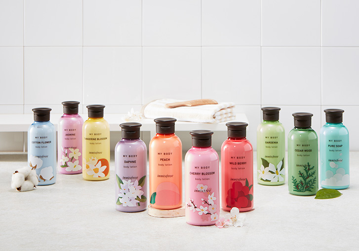 innisfree body lotion