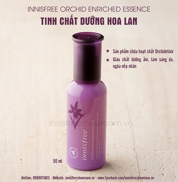 innisfree orchid enriched essence 3