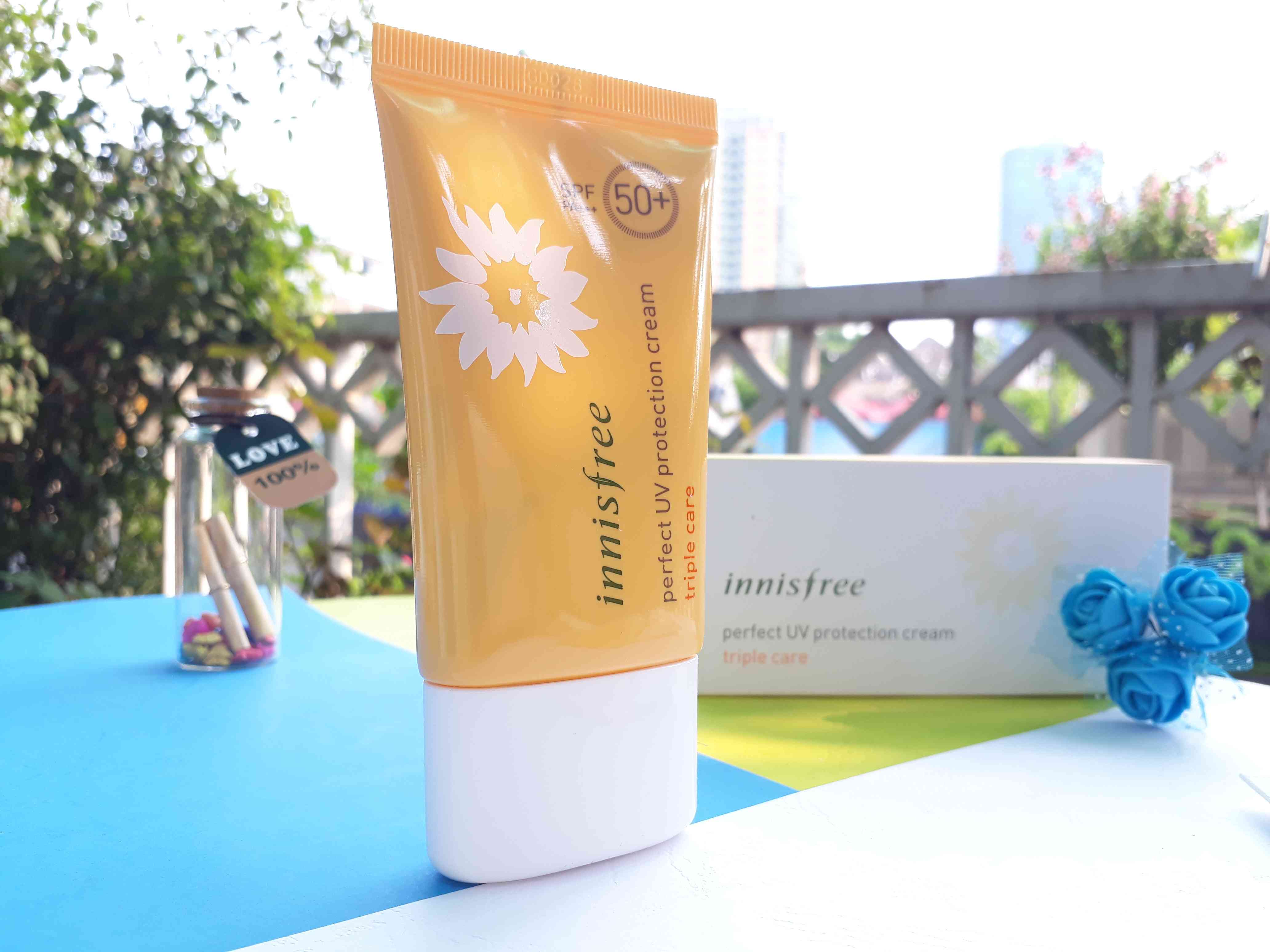 Innisfree Perfect UV Proteciton Cream Triple Care 2
