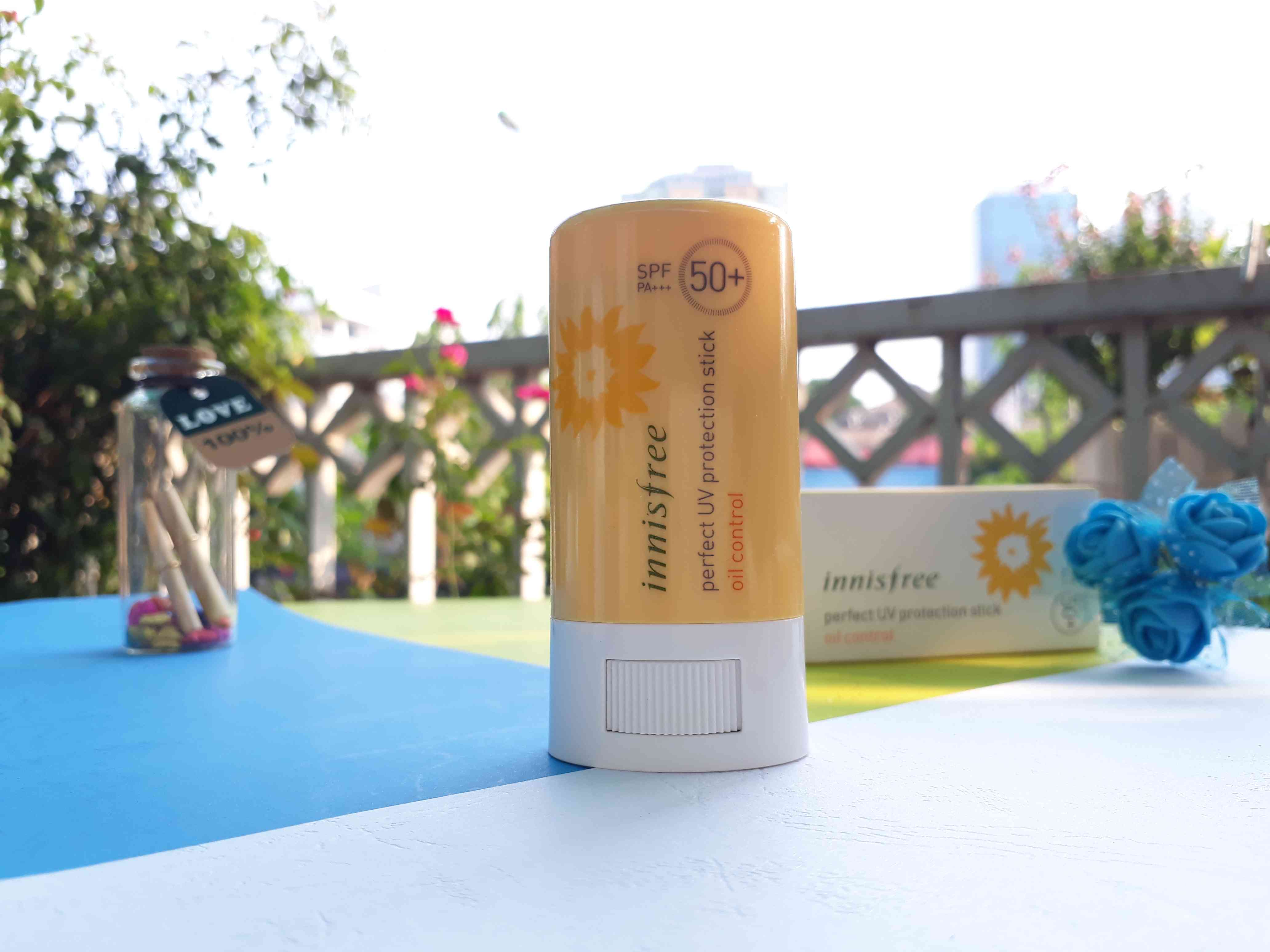Innisfree Perfect UV Protection Stick Oil Control 2