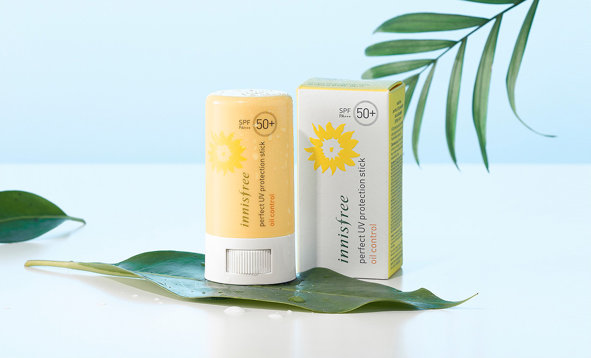 innisfree perfect uv protection stick oil control 3