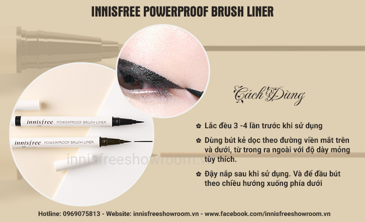 ke mat da innisfree powerproof brush liner