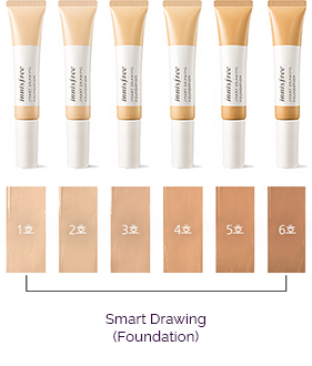 Kem nền Innisfree Smart Drawing Foundation
