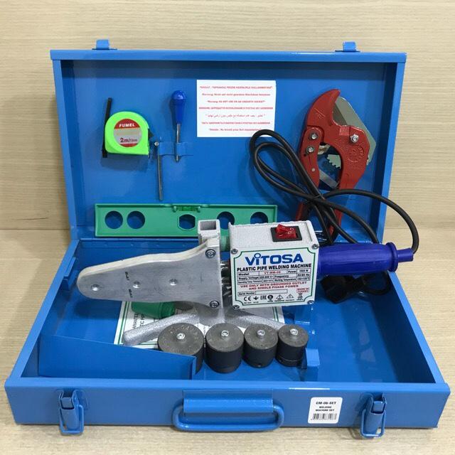 Máy hàn ống nhựa VT-WM-06 Set ( đầu hàn từ 20 đến 40)