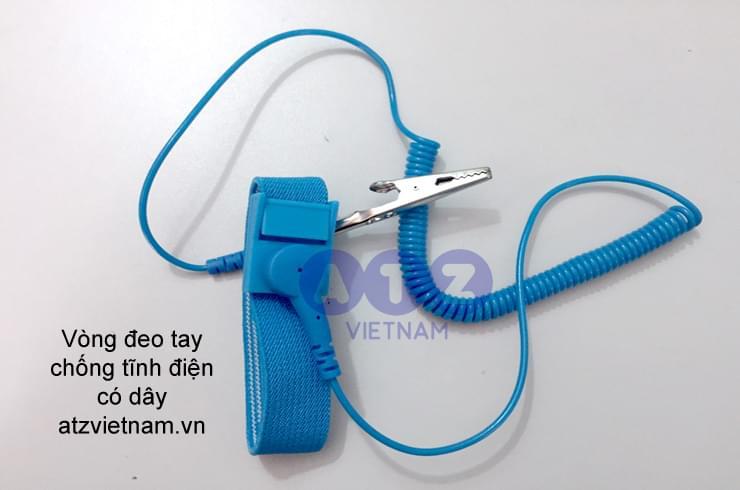vòng đeo tay chống tĩnh điện leko