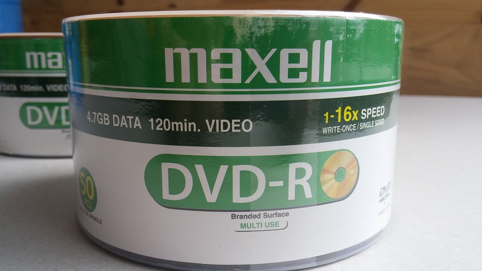 DVD-R Maxcell