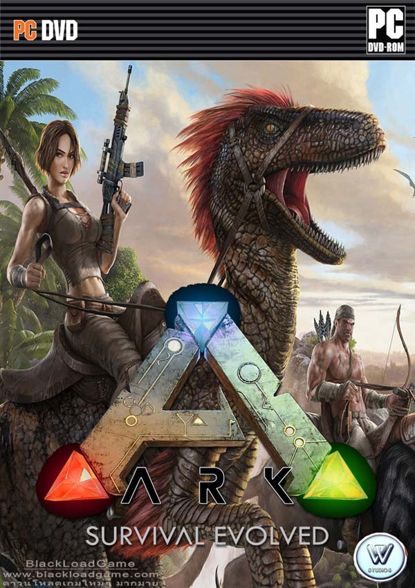 Image result for ARK Survival Evolved cover pc