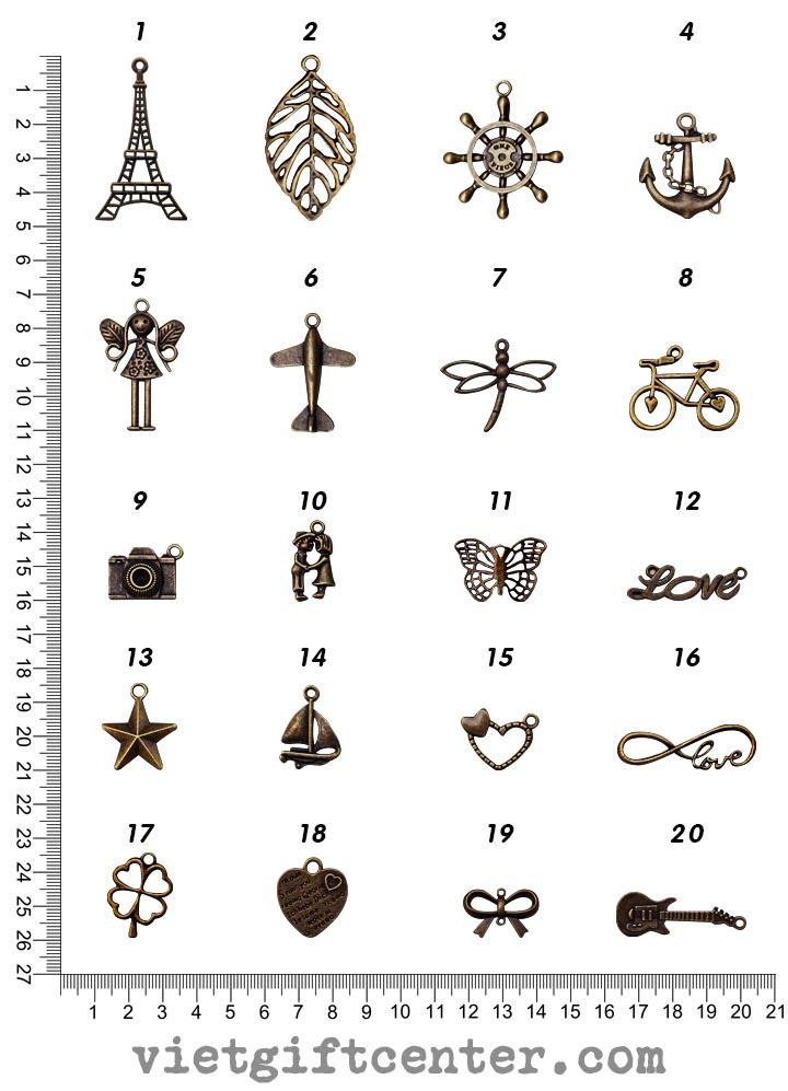 phù điêu Công dụng: Dùng trang trí scrapbook, sổ tay, mặt dây chuyền, vòng tay, móc chìa khóa, thiệp handmade