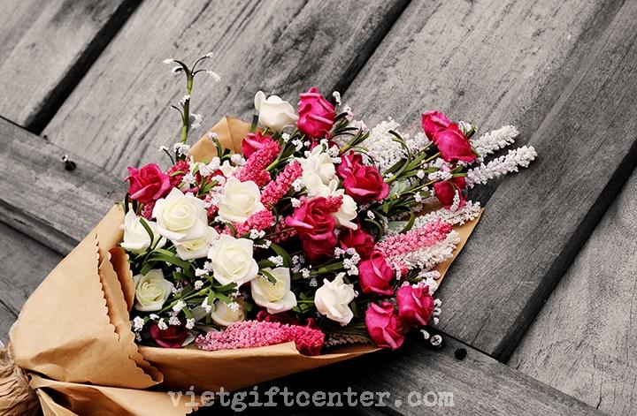 hoa sinh nhật tặng bạn trai
