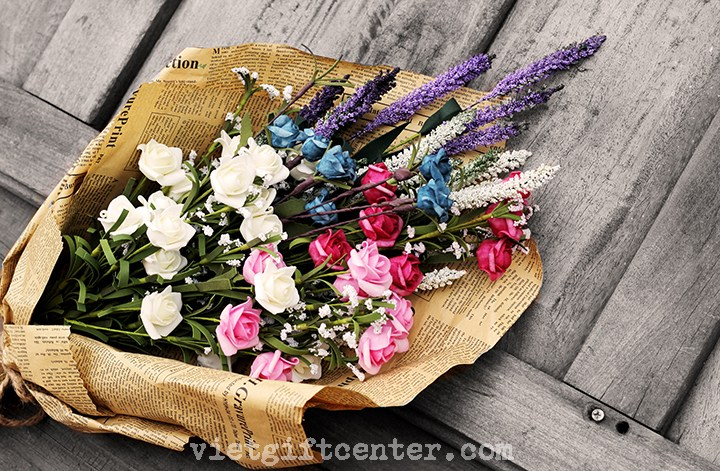 hoa handmade Cổ & Cũ