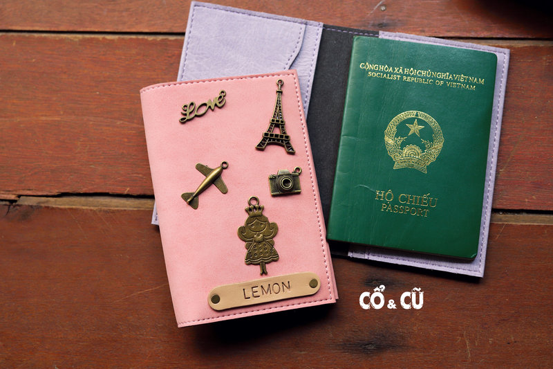 passport cover handmade