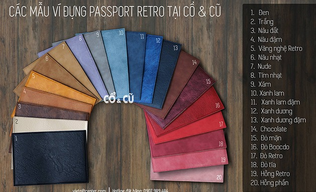 passport cover mới