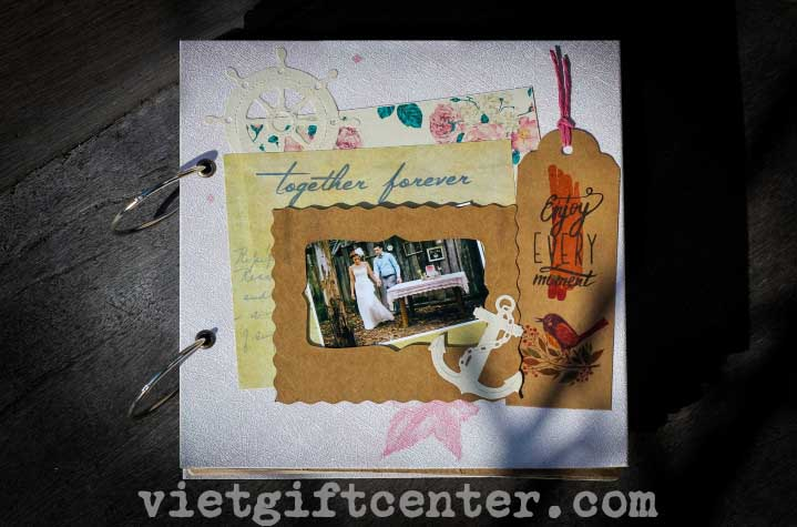 scrapbook anchor handmade