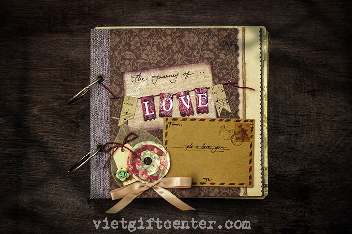 scrapbook the journey of love