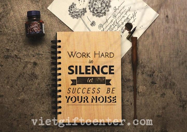 """""""Làm việc trong im lặng, hãy để sự thành công của bạn lên tiếng"""" - so tay bia go"""