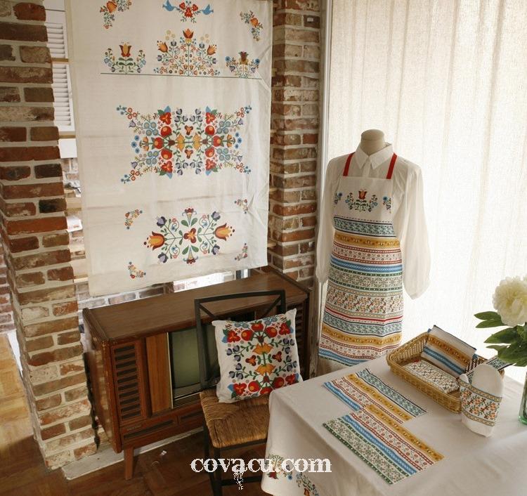 Tự làm vật dụng trang trí nhà cửa với vải canvas bố tặng mẹ ngày 20/10