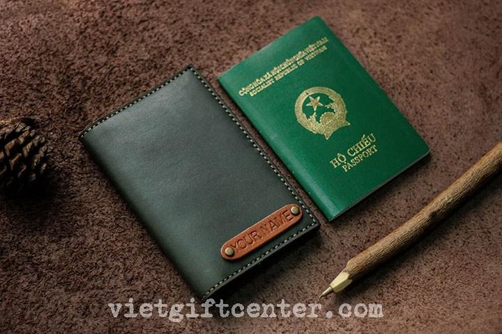 vỏ bọc hộ chiếu khắc lazer