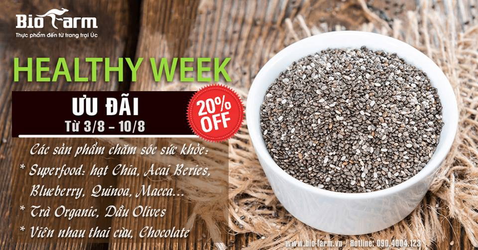 [BIOFARM HEALTHY WEEK]