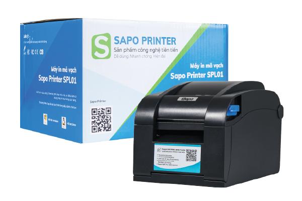 Máy in tem Sapo Printer SPL01